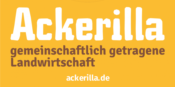 Ackerilla arbeitet mit OpenOlitor