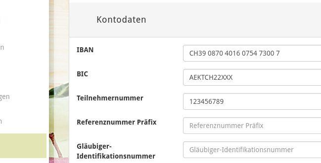 Report-Vorlagen: QR-Rechnungen